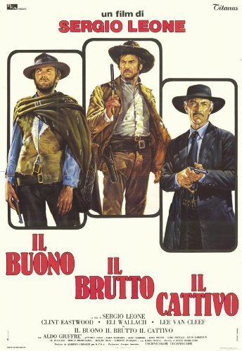 The Good, The Bad and The Ugly POSTER Movie (11 x 17 Inches - 28cm x 44cm) (1966) (Italian Style A)