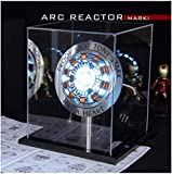 Marvel Avengers Iron Man Arc Reactor with LED Light USB Charge Buy Now Get Tony Stark arc Reactor Gifts for me (with Display Box)