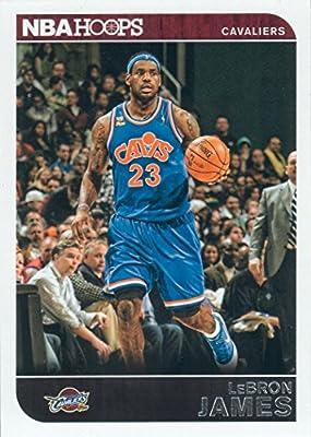 2014 2015 Lebron James Hoops NBA Basketball Series Mint Card 117 Lebron James M (Mint)