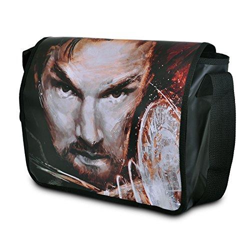 Doctor Strange Tasche Face Messenger Bag Elbenwald schwarz