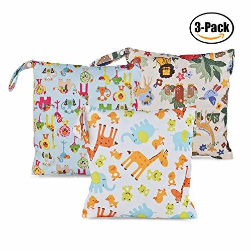 waterproof wet diaper bag - 6