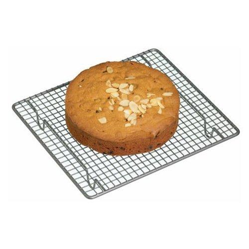 Master Class Kitchencraft Rejilla Cuadrada para Horno, Acero, Negro, 26x23.6x3.