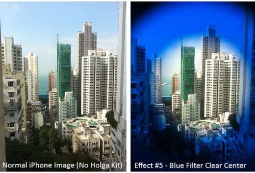 Blue Holga iPhone 5 Lens Filter Kit SLFT-IP5