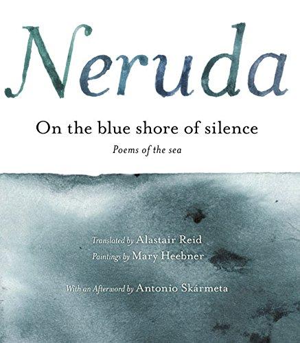On the Blue Shore of Silence: Poemas frente al mar...