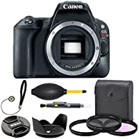 Canon EOS Rebel SL2 DSLR Camera Body Only (Black) 2249C001 (USA) - Full Accessory Basic Beginners Starter Bundle Package Deal