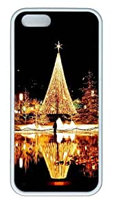 Christmas Nights TPU White popular iphone 5S case for Apple iPhone 5/5S