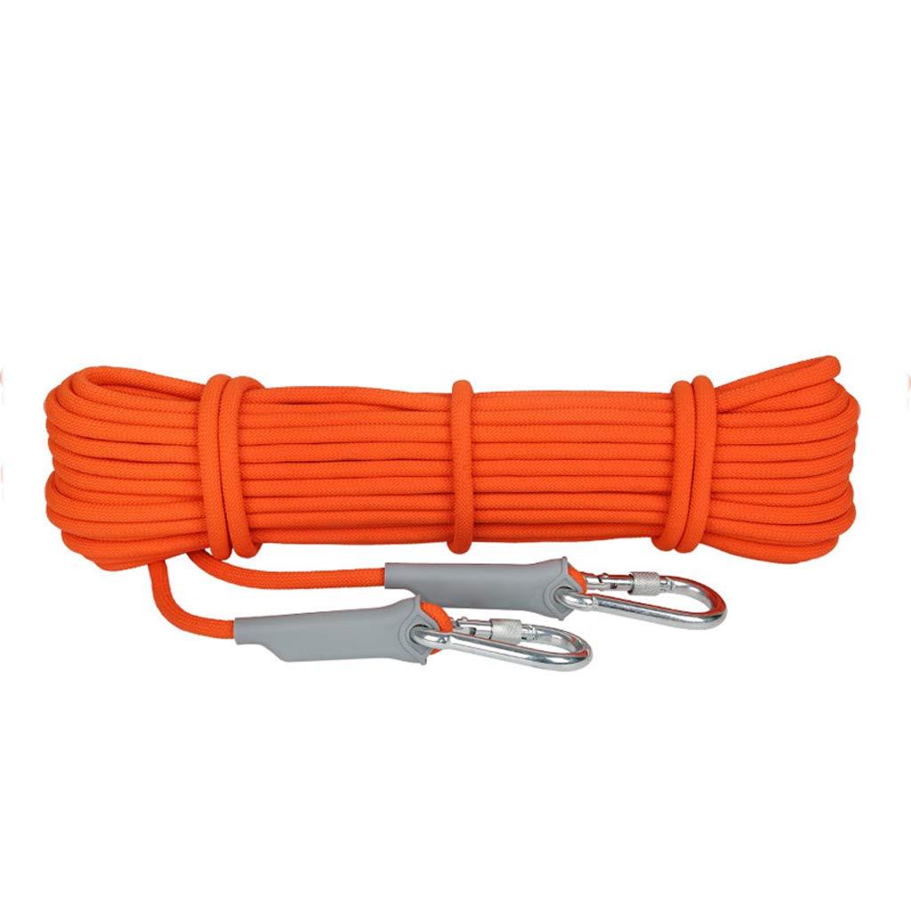 登山ロープアウトドアロープ安全ロープ家庭用ロープライフライン耐摩耗クライミングロープスノーケリングロープマウンテンクライミングレスキューロープ旅行ハイキングロープ (サイズ さいず : 8mm50m) B07HBYTDG1 8mm50m  8mm50m