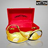 Crockery wala and Company Silver and Gold Plated Designer Dry Fruit Tray, Decorative Diwali gift item