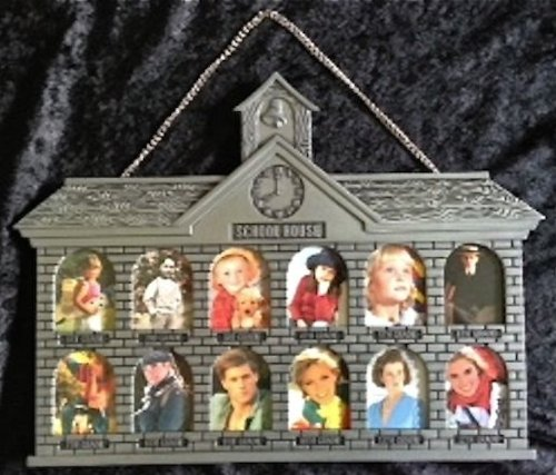 School House Photo Frame 1st - 12th Grade (Faux Pewter) ()