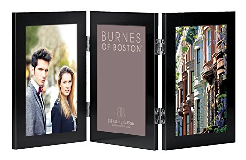 Burnes of Boston C53946 Triple Hinged Picture Frame,, used for sale  Delivered anywhere in USA