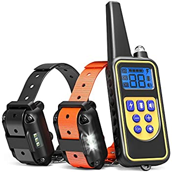 Petspy  Yard Waterproof Rechargeable Remote Training Dog Collar