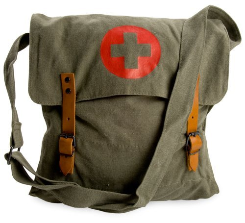 Medic Bag with Cross by Mafoose