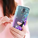 LeYi Compatible with Galaxy S5 Case with 2PCS