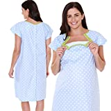 Gownies - Labor & Delivery Maternity Hospital Gown by Baby Be Mine Maternity, Hospital Bag Must Have, Best Baby Shower Gift
