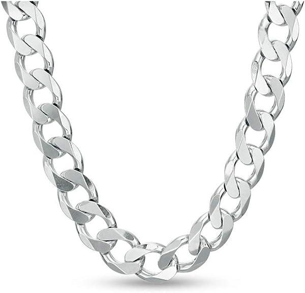 ejemplo de collar de plata