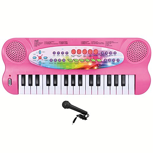 Lightahead 32-key Electronic Organ Keyboard Piano Portable M