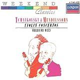 Tchaïkovski/Mendelssohn-Ctos pour Violon