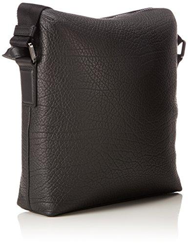 HUGO Victorian_ns Zip - Borse a spalla Uomo, Nero (Black), 8x28x26 cm (B x H T)