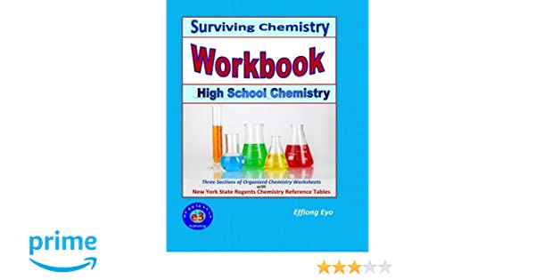 Counting Number worksheets fun chemistry worksheets : Surviving Chemistry Workbook: High School Chemistry: 2015 Revision ...