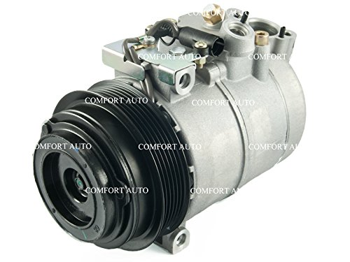 Compressor Mercedes Ac Benz (Mercedes Benz 2002 - 1998 ML320 l 2001 - 1999 ML430 l 2000 ML55 AMG l 1999 - 1996 S320 l 2004 SLK230 l 2004 2001 SLK320 All Engines New AC Compressor With Clutch 1 year Warranty)