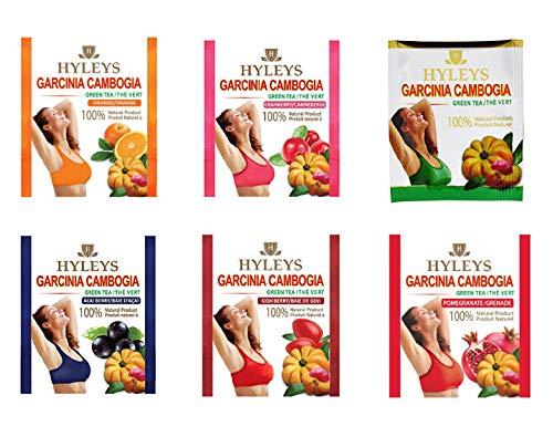 Amazon Com Hyleys Garcinia Cambogia Green Tea Acai Berry 25