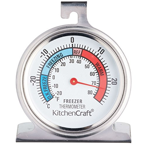 kitchen craft fridge thermometer stainless steel buy. Black Bedroom Furniture Sets. Home Design Ideas
