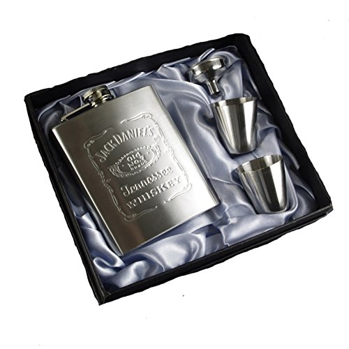 Jack Daniels Chrome Polished Stainless Steel -
