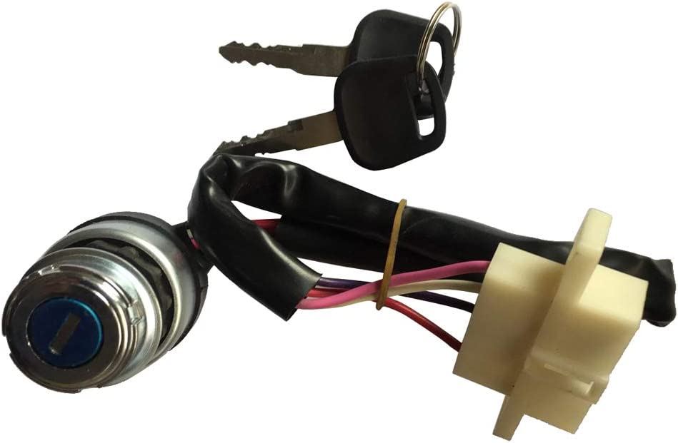 perfk Contact Lock With 2 Key Ignition Switch Electric Scooter Contactors