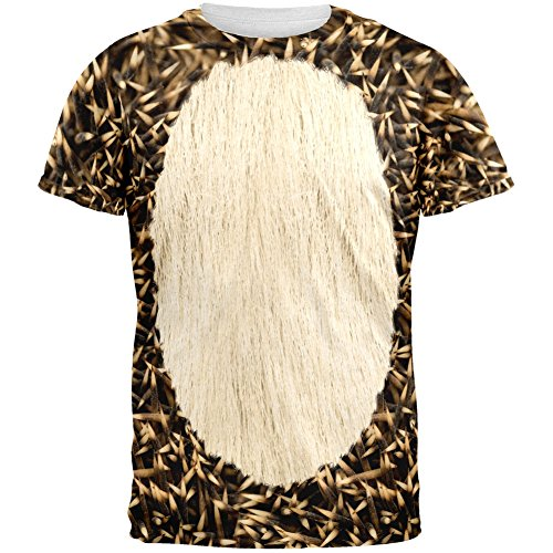 Halloween Hedgehog Costume All Over Adult T-Shirt -