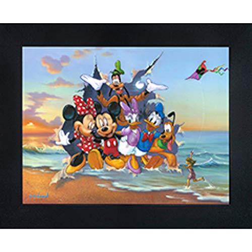 Mickey & The Gang 3D Poster Wall Art Decor Framed | 14.5x18.5
