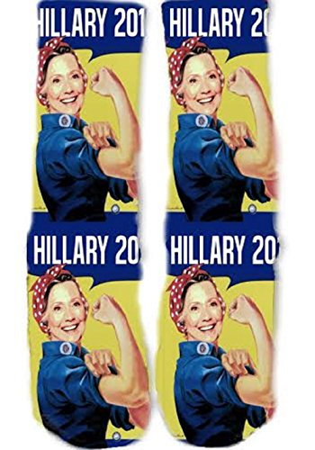 KOS 49 Hillary Clinton Socks product image