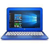 2017 HP Stream 11.6 inch Premium Flagship Laptop Computer, Intel Celeron N3050 up to 2.16GHz, 2GB RAM, 32GB SSD, WiFi, Bluetooth, Webcam, USB 3.0, Windows 10 Home, Blue (Certified Refurbished)