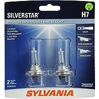 Bombilla halógena de alto rendimiento SYLVANIA H7 SilverStar, (contiene 2 bombillas)
