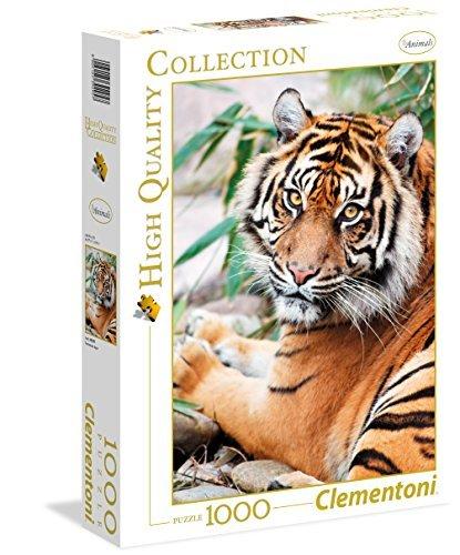 Clementoni 39295.7Jigsaw Puzzle High Quality Collection 1000T Tiger Classic by Clementoni