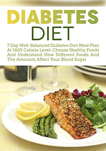 Amazoncom Diabetes Diet 7 Day Well Balanced Diabetes Diet Meal