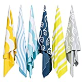 Easthills Outdoors Microfiber Quick Dry Beach Towels for Travel - Sand Free Towel