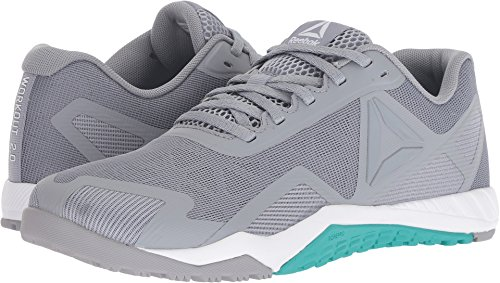 Reebok Women's Ros Workout TR 2.0 Sneaker, Cool Shadow/Solid Teal/White, 8.5 M US