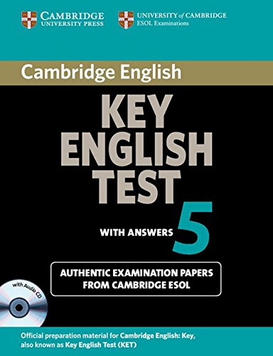 Cambridge English Key - Cambridge Key English Test 5 Self Study Pack (Student's Book with answers and Audio CD): Official Examination Papers from University of Cambridge ESOL Examinations (KET Practice Tests)