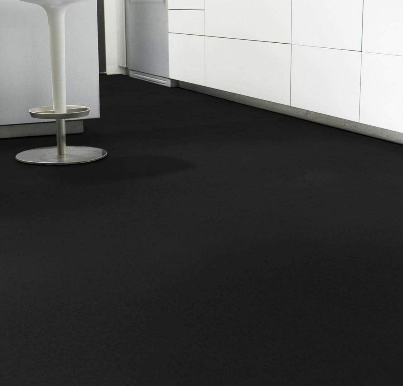 14,90 /€ p. m/² Tarkett Iconik 260D DJ Black PVC Bodenbelag Muster DIN A4