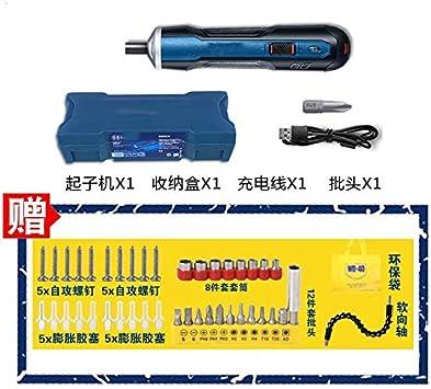 XuLiuMi Destornillador eléctrico Destornillador de 32 piezas ...