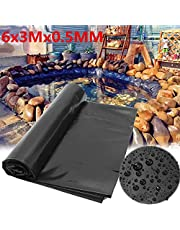 Aoforz-huilongfangzahuodian New 13 Sizes Thicken Waterproof Liner Film Fish Pond Liner Garden Pool Reinforced HDPE Heavy Duty Guaranty Landscaping Pool Pond