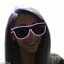 El Wire Glasses - Light Up Glasses - Festival Shades - Rave Glasses