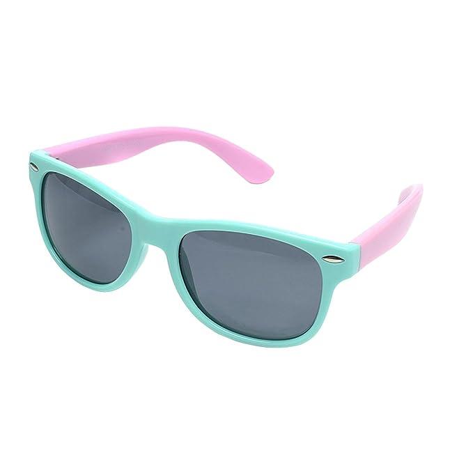 e18e3901771ad Amazon.com  Sunglasses for Girls Ages 3-6 Polarized Sport Wayfarer ...