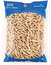 Intech 500 Pack 2 3/4 Pulgadas Natural Tees