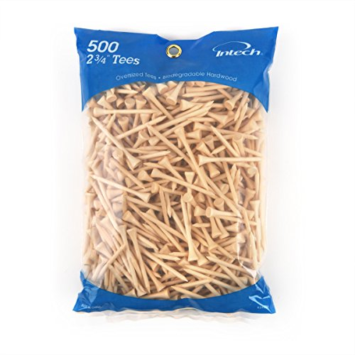 Intech 500 Pack 2 3/4-Inch Natural Tees by Intech (Image #1)