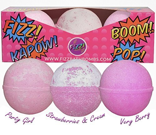 GirlZone BATH BOMBS FOR KIDS: Great Birthday Gifts Present For Girls Of All Ages...