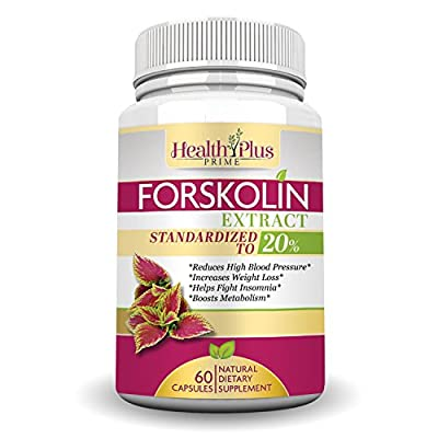 Forskolin Extract Natural Weight Loss and Appetite Supplement with 250mg (Standardized to 20% with 50mg of Active Forskolin) For Real Results That Work All Natural 100% Safe