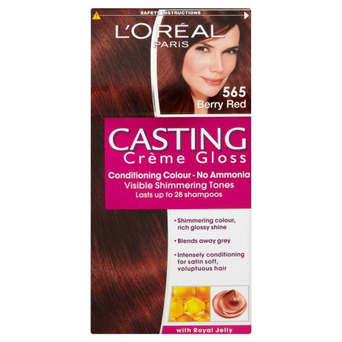L'oreal Paris Casting Creme Gloss Hair Colourant 565 Berry Red