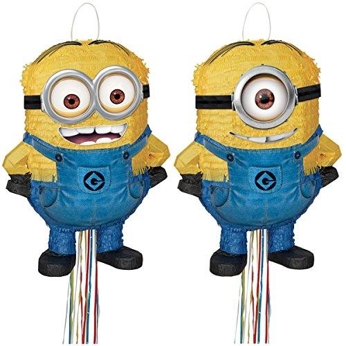 Despicable Me 2 Minion Pull String Pinata - -