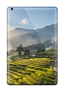 Top Quality Case Cover For Ipad Mini/mini 2 Case With Nice Plantation Appearance